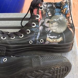 Shoes - Chuck Taylor Batman Converse Women's Size 7